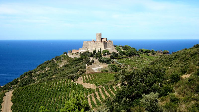 Fort saint elme at Languedoc Roussillon