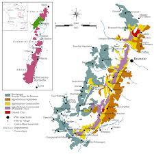 Carte du vignoble de Bourgogne